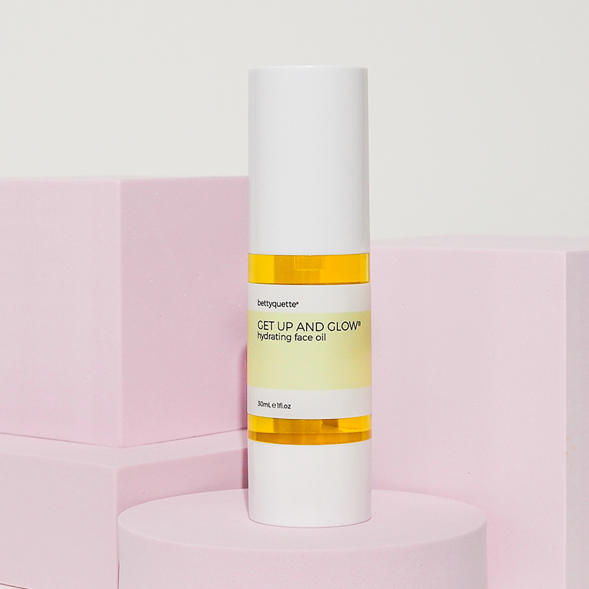 Get Up And Glow Face Oil Bettyquette