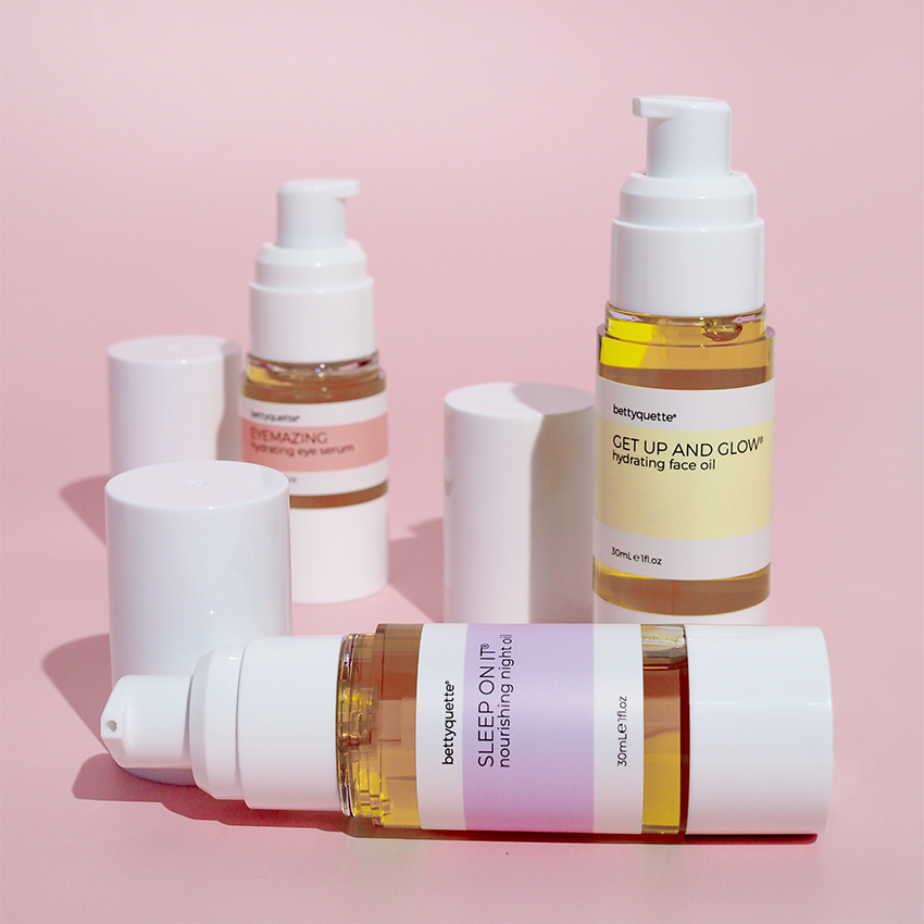 bettyquette face oils