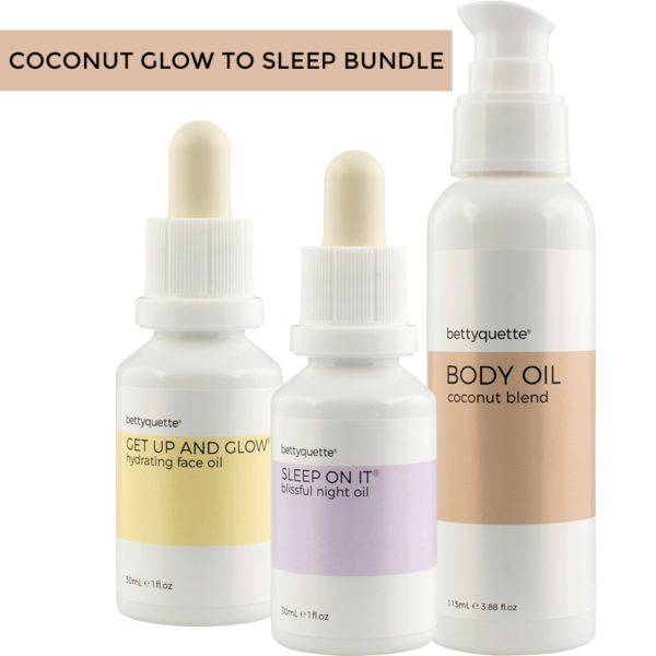 Bundle up & save with our Citrus Glow To Sleep Bundle. Featuring our two best selling face oils + a bottle of citrus body oil, your skin will love it!