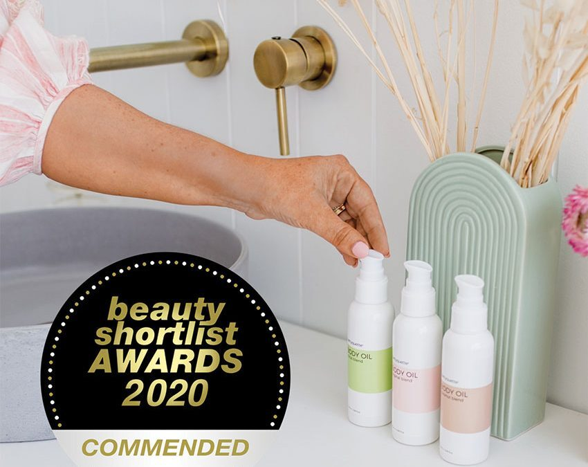 award winning all natural body oil by bettquette