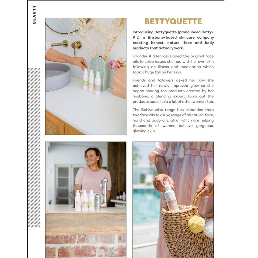 Bettyquette feature Brisbane Fashion Month pocket guide