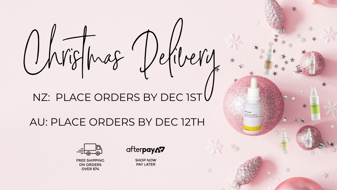 Bettyquette natural skincare Christmas Delivery